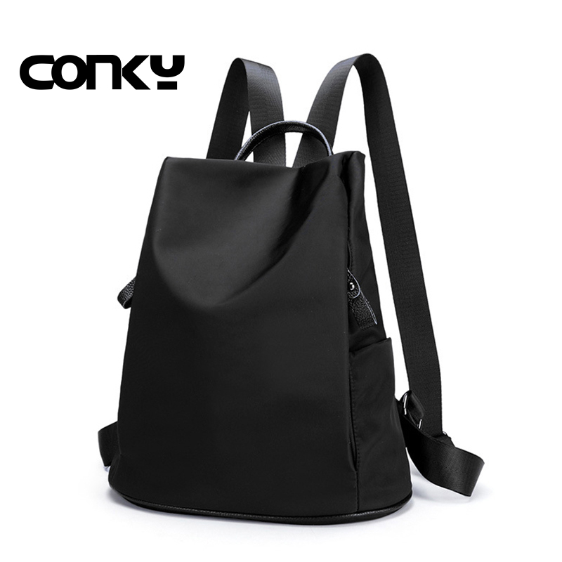 Women Shoulder Bag Pack 2016 preppy style PU+oxford Backpack Female Fashion Leisure Bag oxford Waterproof Travel Backpack Women