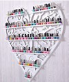 Nail polish, perfume iron wall rack shelf display cabinet nail shop display wall mount makeup