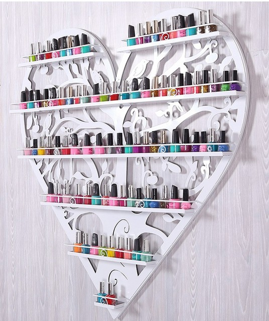 Aliexpress.com : Buy Nail polish, perfume iron wall rack shelf ...
