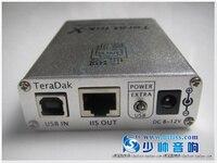 TeraLink X1 für USB transfer BNC coaxial faser unterstützt DTSAC-3 format