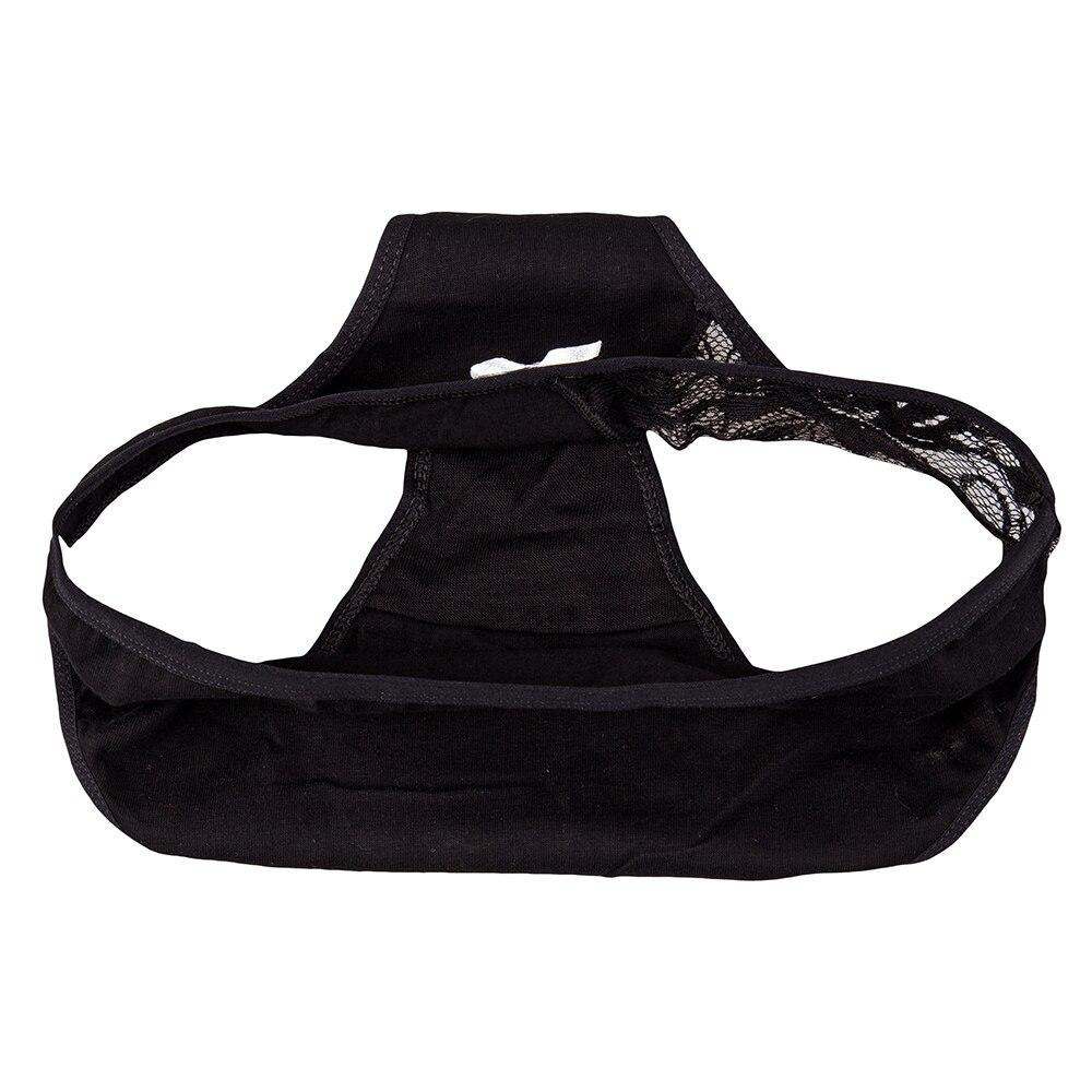 FUNCILAC 5pcs/Set Briefs Female Underwear Cotton Panties Lace Lingerie Wholesale Transparent