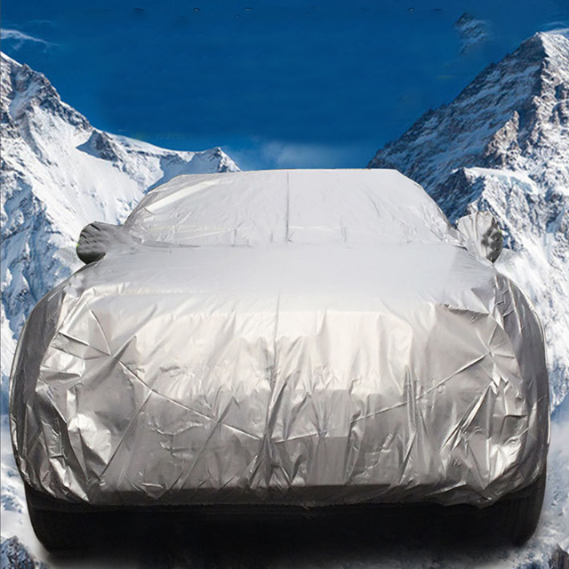 Car Cover Tarpaulin Water Resistant Sun Durable Multifunctional Thickening Outdoor Breathable Fabric Car Protection