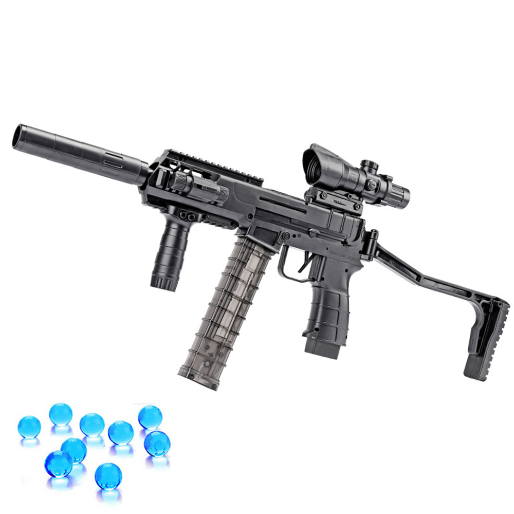 Plastic Toys EVO Submachine Guns Electric Burst Water Bullets Orbeez Ball Paintball Gun Toy for Children Boys Weapon Kids Gifts