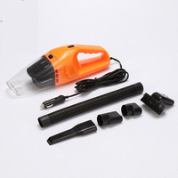 Mini Powerful Handy Car Vacuum Cleaner Wet And Dry Dual Use 120W USB Car Cleaning Machine