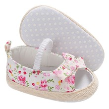 Summer Baby Girl Bowknot Shoes Newborn Infant Casual Outdoor Princess