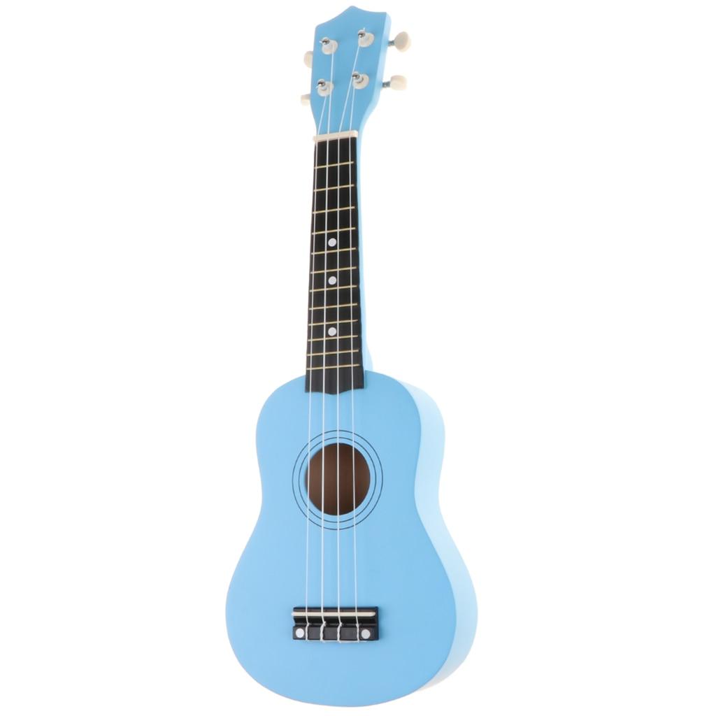 21 Inch 4 String Beginners Ukulele Hawaii Guitar Kids Ukulele Musical Instruments Blue Musical Instruments