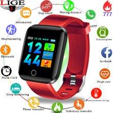 Get more info on the LIGE 2019 New Sport Smart Watch Women Ip67 Waterproof Fitness Tracker Blood Pressure Heart Rate Monitor Bluetooth Smart Bracelet