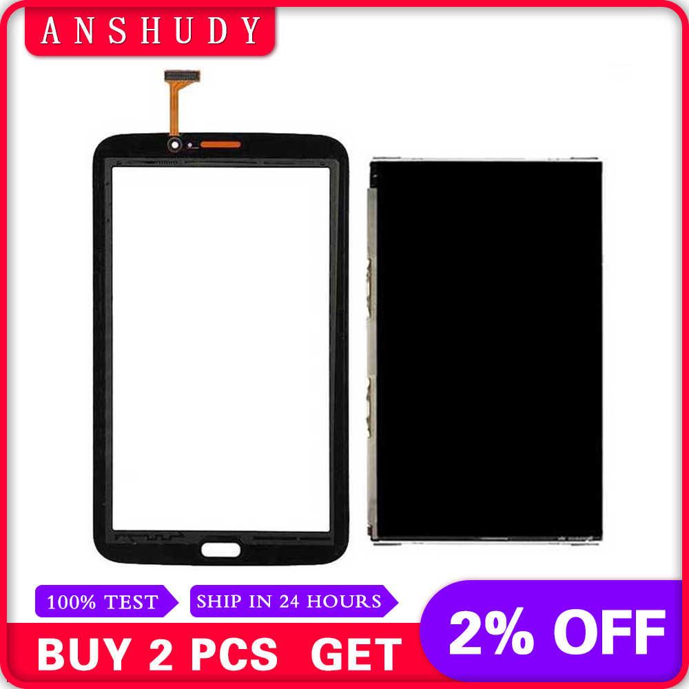 สำหรับ Samsung Galaxy Tab 3 7.0 SM-T210 T210 จอแสดงผล LCD จอแสดงผล + หน้าจอสัมผัส Digitizer SENSOR Glass