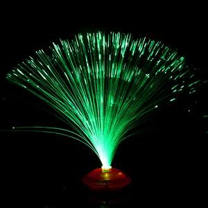Image 4 - 8 patterns of gradient color LED fiber optic night light indoor decoration childrens holiday gift