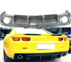 Z włókna węglowego tylny zderzak samochodowy Spoiler pokrywa dyfuzora dla Chevrolet Camaro 2010 2011 2012 2013 2014 2015