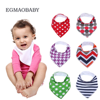 EGMAOBABY 9pcs Set Organic Tiny Cotton Autumn Baby Bibs Baberos Babador Bandana Fantasia Bebe Burp Cloth