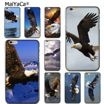 MaiYaCa Eagle EVERLASTING LIBERTY High Quality phone Accessories cover for iPhone 8 7 6 6S Plus X 5S 12pro SE 11pro max shell image