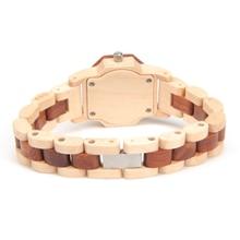 BOBO BIRD M25 Analog Top Brand Women Luxury Quartz Movement Lightweight Vintage Wooden Watch Relojes de mujer With Gift Box