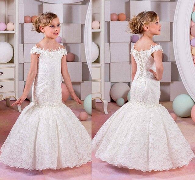 Heißer Verkauf Neue Kleine Mädchen Erstkommunion Kleider ...