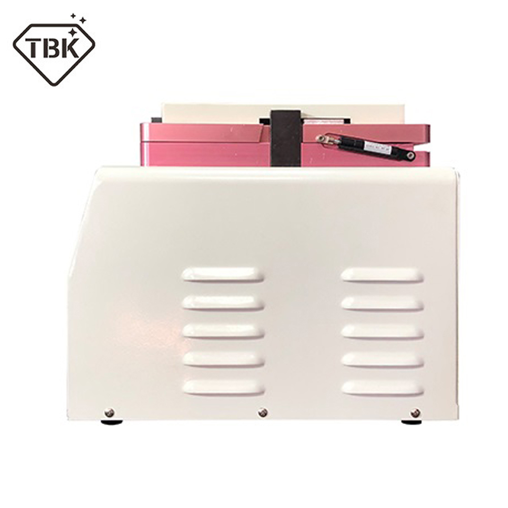 Купить с кэшбэком TBK-308A 15 Inch LCD Touch Screen Automatic Bubble Removing Machine OCA Vacuum Laminating Machine With Automatic lock Gas