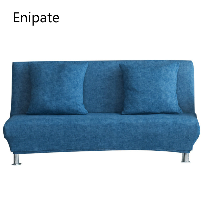 Enipate Stretch Stretch Sofa Slipcovers Cover Arm All-inclusive Slip-resistant Sofa Sofa Folding Bed Cover Solid Sofa Towel