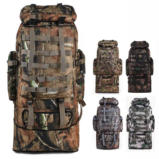 Softback Sacs Camouflage Grand Escalade 100l Randonnée À Fengtu Dos iuZPTkOX