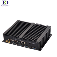 Мини-компьютер безвентиляторный мини-ПК Windows10 Core i5 4200U i3 4010U Промышленные ПК Прочный ПК мини Computador 4 К TV коробка