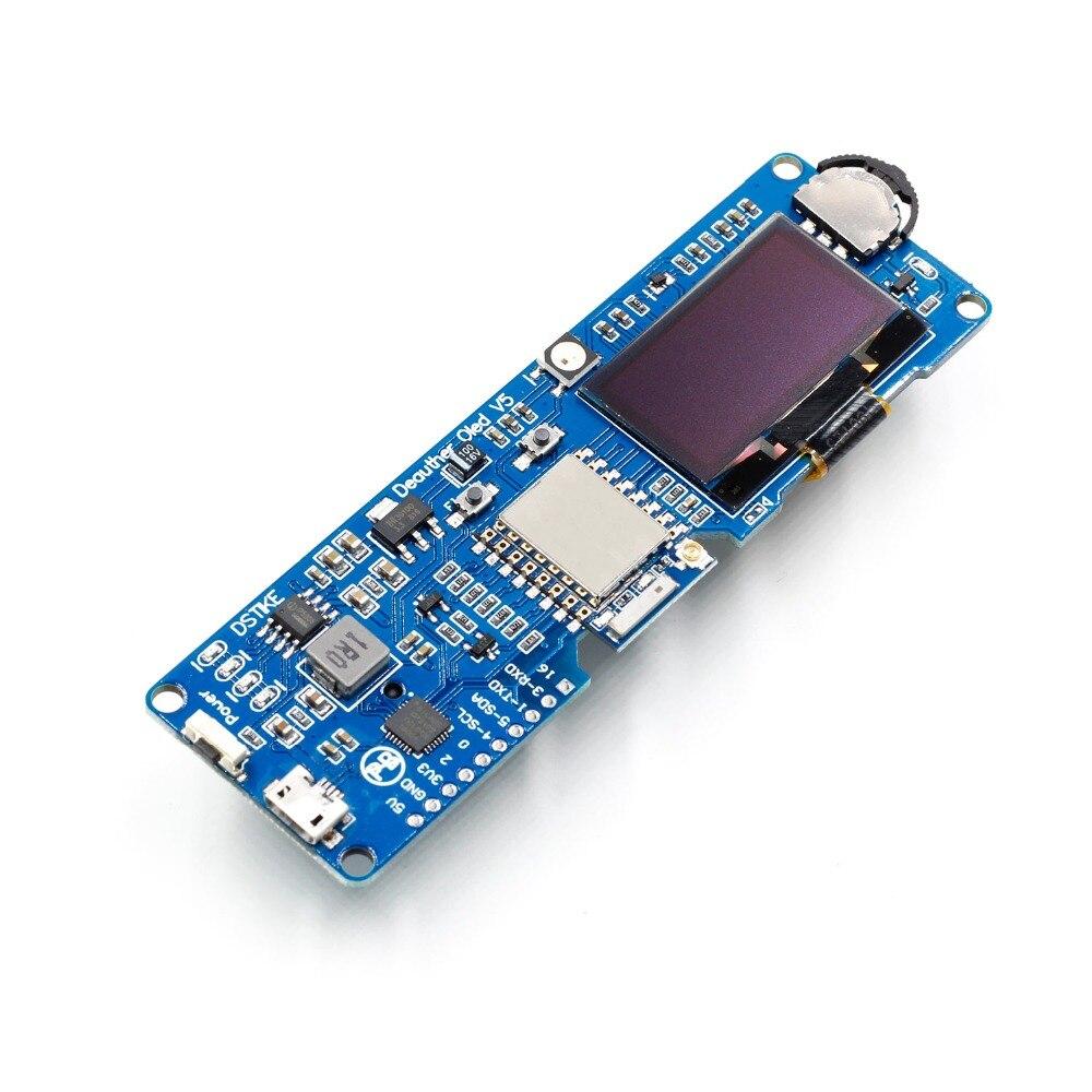 Image 3 - DSTIKE WiFi Deauther O светодиодный V5 WiFi атака/контроль/Тест Инструмент ESP8266 1.3O светодиодный 8dB антенна 18650 зарядное устройство RGB светодиодный без PB-in Интегральные схемы from Электронные компоненты и принадлежности on AliExpress