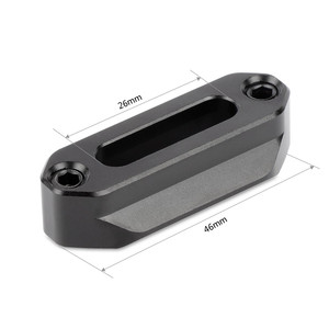 Image 2 - SmallRig Quick Release Safety Nato Rail (46mm) With 1/4 Screws For Nato Handle EVF Mount   1409