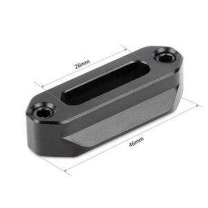 Image 2 - SmallRig riel Nato de seguridad de liberación rápida (46mm) con tornillos de 1/4 para soporte EVF de mango Nato 1409
