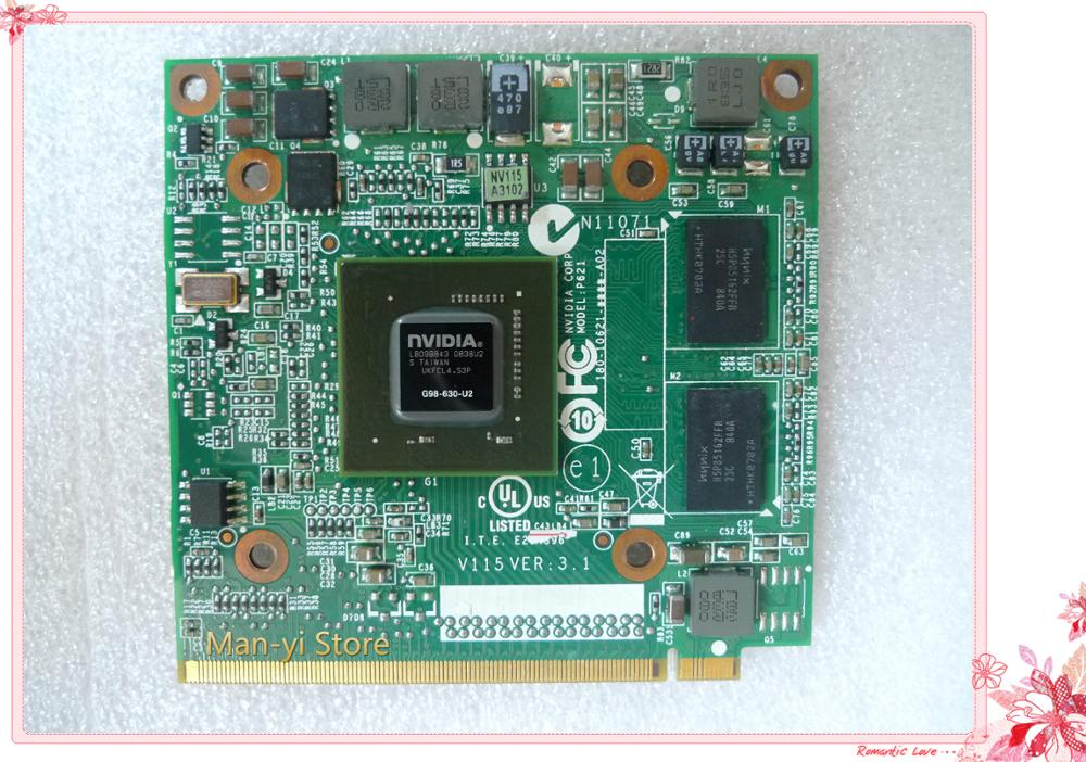 Original Geforce 9300M GS graphics card MXM II DDR2 256MB VG.9MG06.001 VGA CARD for Acer 5520G 6930G 7720G 4630G 7730G