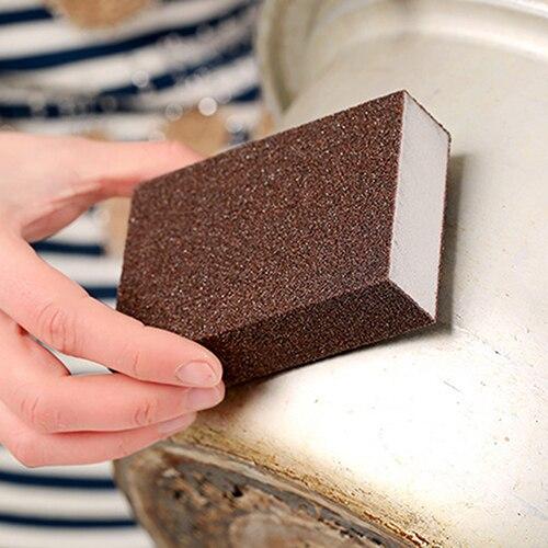 New Arrival Kitchen Nano Emery Magic Clean Rub Pot Rust Focal Stains Sponge Removing Tool BID4