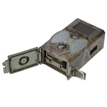 Trail охотничья камера 1080P 12MP инфракрасная камера S HC300A HC300 фото ловушки ночного видения Открытый Охотник Cam Солнечная Панель зарядное устройст...