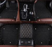 kalaisike Custom car floor mats for Cadillac all models SRX CTS Escalade ATS XTS SLS CT6 XT5 CT6 ATSL car accessories styling