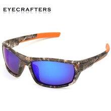 Marca de Designer Óculos Polarizados Óculos de Sol Das Mulheres Dos Homens  Camuflar Esporte Armação de Óculos de Sol de Pesca Óc.. ce24973b5d