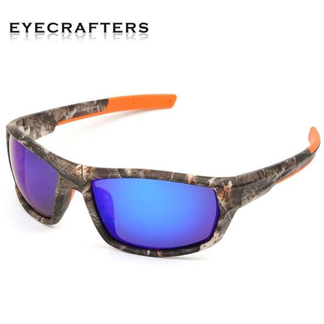 d345edc41b4 Brand Designer Polarized Sunglasses Men Women Camo Camouflage Frame Sport  Sun Glasses Fishing Eyeglasses Oculos De Sol Masculino