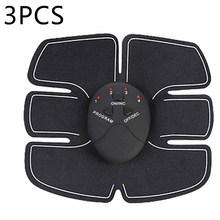 Professional 3pcs/Set Abdomen Trainer Battery Home Fitness Instrument Muscle Abdominal muscle