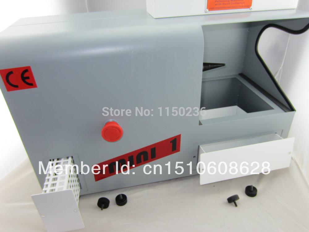New arrival 220V Jewelry polishing machine with dust collector &gold grinding motor, single head polishing machine,good quality