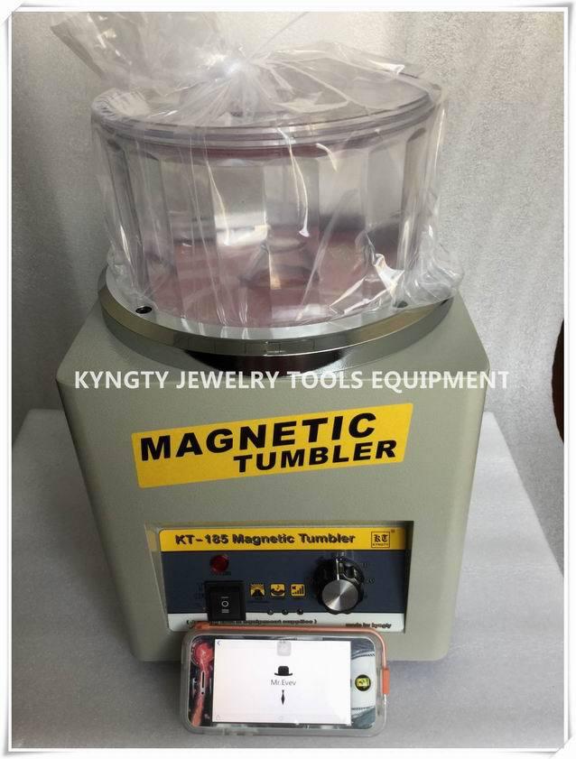Jewelery Tools 110v Jewelry Polisher Super Finishing Magnetic Tumbler mini magnetic tumblers for jewelry polishing цена