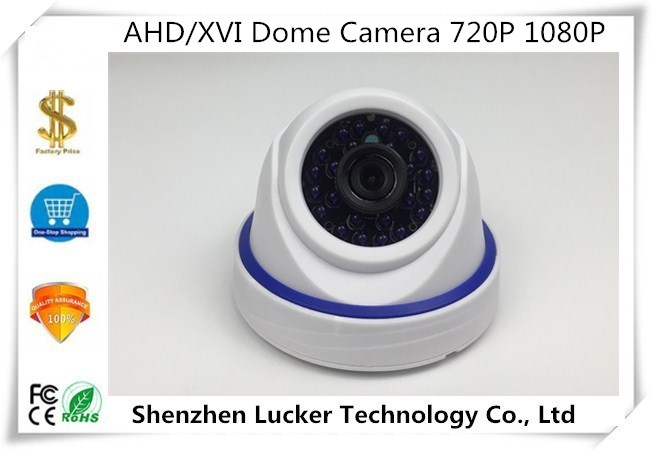 Security & Protection Ahd/xvi Dome Camera 720p 1080p Indoor 24 Leds Infrared Xm330+imx323 Nightvision Irc Utc Control Coaxial Bnc Hd Cctv Security Surveillance Cameras