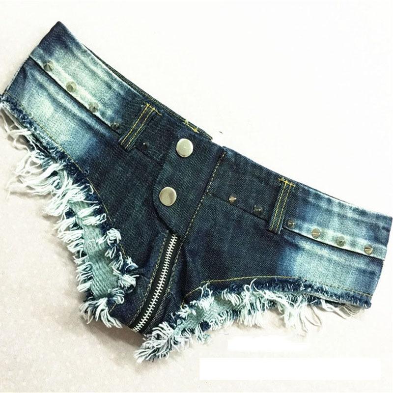 1pcs Women Sexy Jeans Shorts  Summer Fashion Pure Cotton Low Waist Zipper Super Shorts Ladies Skinny Denim Short Pants Woman