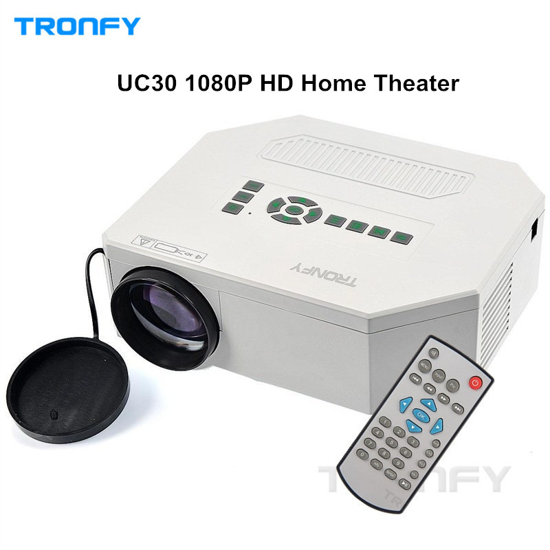 Original tronfy uc30 1080p projector full hd portable home for Micro projector 1080p