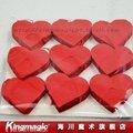 Corazón rojo de Las Tormentas de Nieve romántica accesorio mago magia de papel papel de nieve magia props magia de escenario 9 unids cada lote