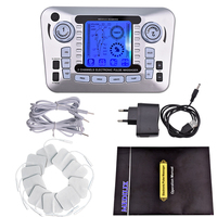 Health Care Pulse Massager Ems Electrical Muscle Stimulator Tens Acupuncture Low Frequency Physiotherapy Machine Fat Burner
