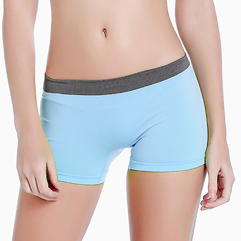 Summer Yogi Shorts Women Mesh Breathable Ladie Girl Short Pants for Running Sport Fitness Clothes Jogging image
