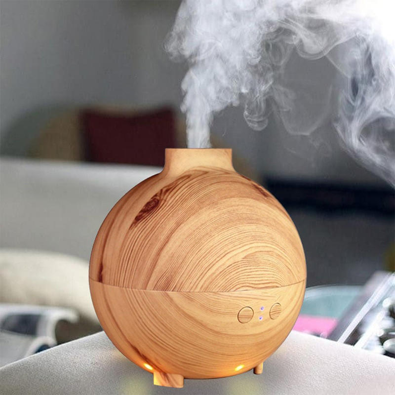 600ml Hot Sale Ultrasonic Air Humidifier Mist Maker Fogger Electric Aroma Diffuser Essential Oil Aromatherapy LED Light 400ml hot sale led light ultrasonic aroma air humidifier mist maker electric essential oil diffuser aromatherapy fogger purifier