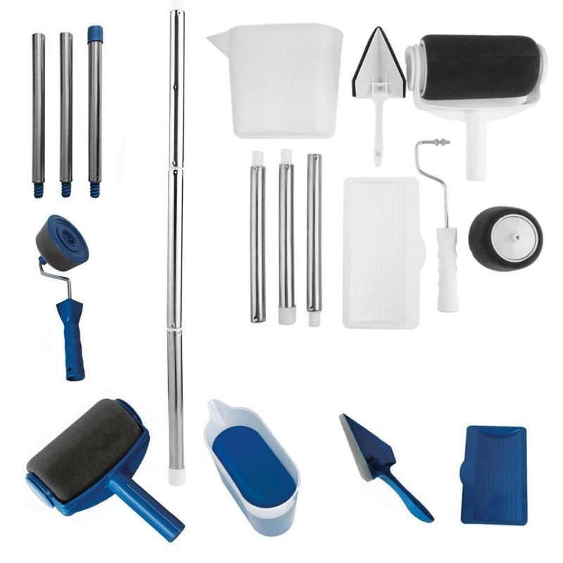 US $12.24 20% СКИДКА|8 шт. DIY набор кистей для рисования, инструменты для домашнего использования, настенные декоративные ручки, многофункциональные кисти для рисования, инструмент|Наборы для рисования| |  - AliExpress