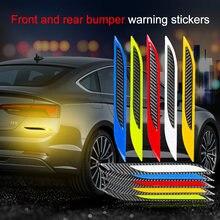 2 шт светоотражающие полосы из углеродного волокна для автомобильного