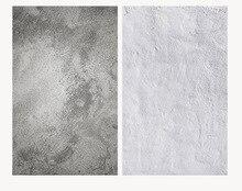 خلفية ثلاثية الأبعاد مزدوجة الجانبين نمط جدار الاسمنت خلفية كبيرة الحجم 60X90CM لصورة الكاميرا