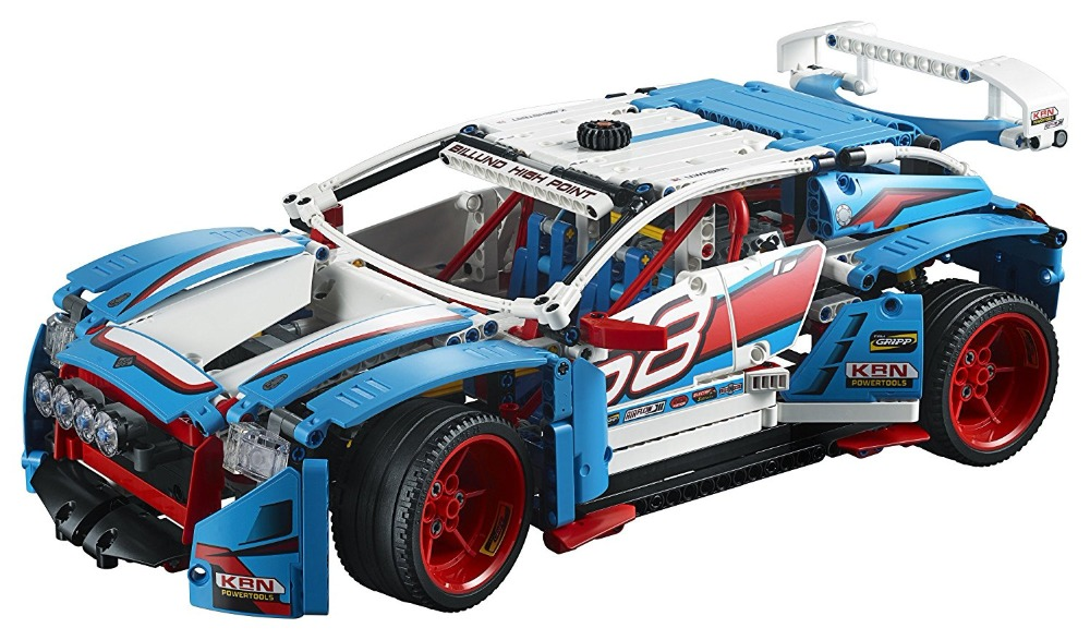 Technic 2 IN 1 Rally Car LEPIN Building Blocks Set Bricks City Classic Model Kids Toys For Children Gift Compatible Legoe waz compatible legoe city lepin 2017 02022 1080pcs city 50th anniversary town figure building blocks bricks toys for children