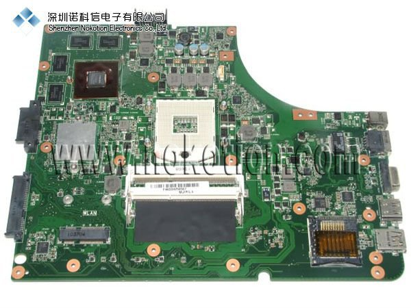 ФОТО Laptop motherboard for ASUS K53SV DDR3 HM65 Mainboard full tested