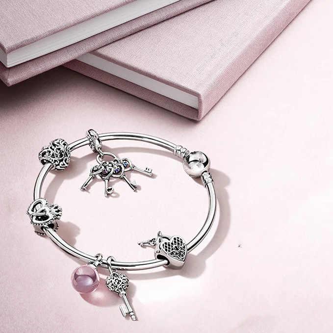 2020 novo coração regal doce casa contas caber pandora encantos originais prata 925 pulseira trinket jóias para mulher homem fazendo mix001