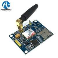 DC 5V 20V SIM800C Development Board GSM GPRS Module Support Message Bluetooth Audio Interface Large Current Low Voltage