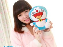 small cute plush laughing doraemon toy stuffed lovely doraemon doll perfect gift about 25cm