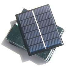 BUHESHUI Epoxy 0.6W 3V Solar Cell Module Polycrystalline DIY Solar Panel Toy System For Battery Size 60*75*3MM 100pcs Wholesale